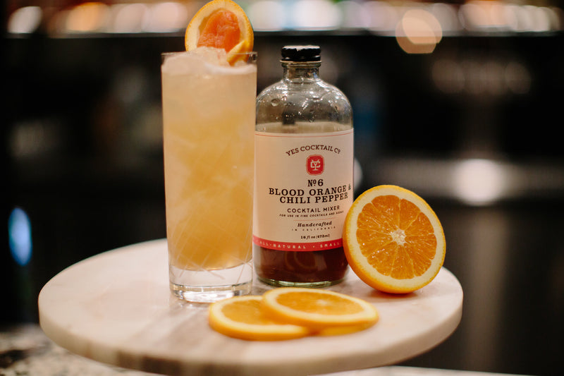 Blood Orange & Chili Pepper Cocktail Mixer