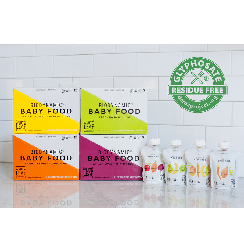 Biodynamic Organic Baby Food Bundle Box  — 24 (90g) Pouches — Variety Pack