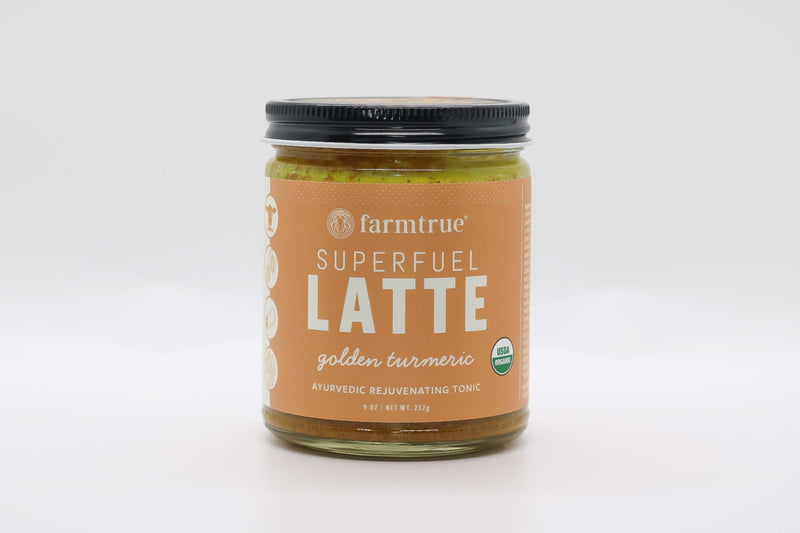 Golden Turmeric Superfuel Latte