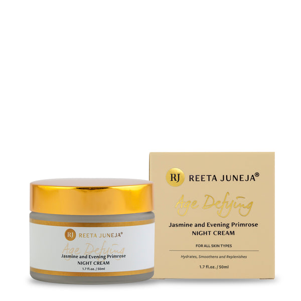 Age Defying Jasmine and Evening Primrose Night Cream