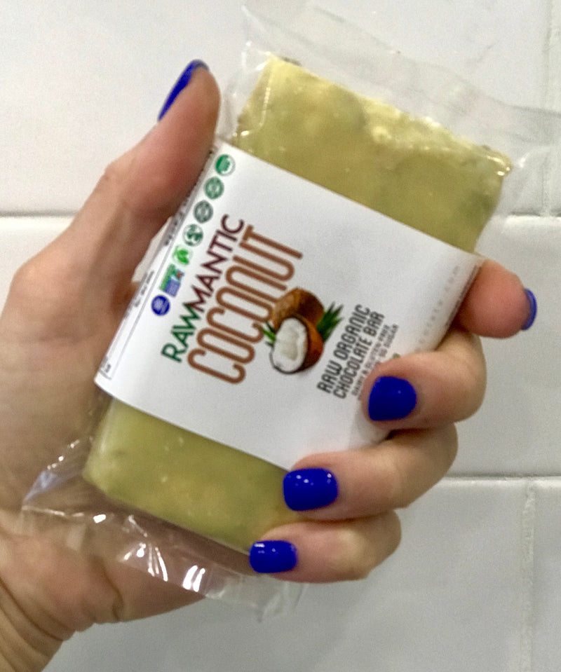 Rawmantic Coconut Protein Bar