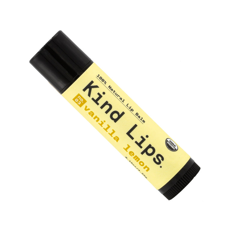 Vanilla Lemon Lip Balm