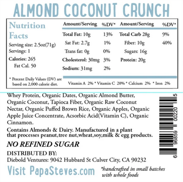 Almond Coconut Crunch