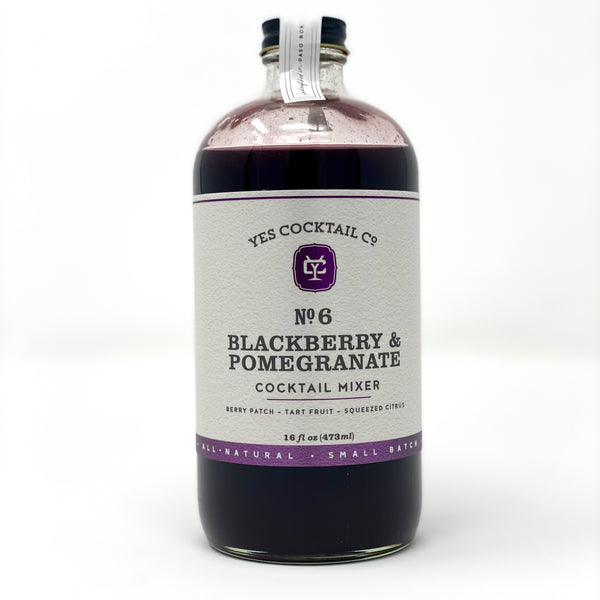 Blackberry Pomegranate Cocktail Mixer