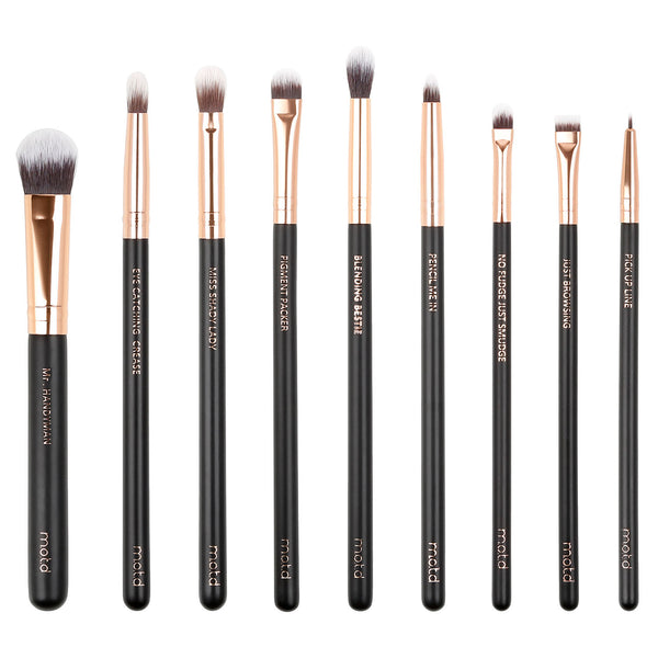 Lux Vegan Eye Makeup Brush Set
