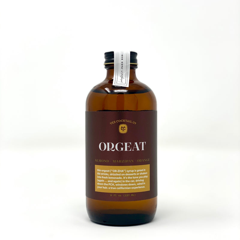 Orgeat Cocktail Syrup