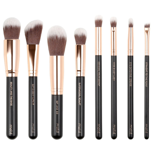 Lux Vegan Makeup Brush Essential Set