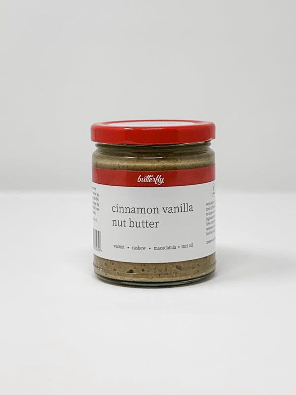 Cinnamon Vanilla Nut Butter