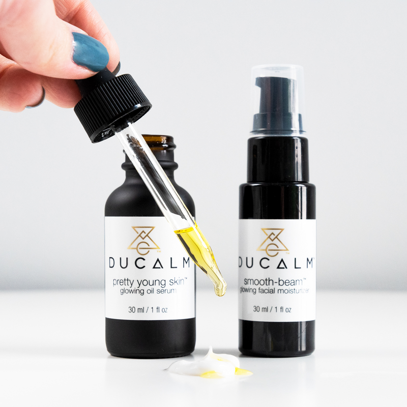 Young Glow Duo, Facial Oil Serum and Moisturizer Kit