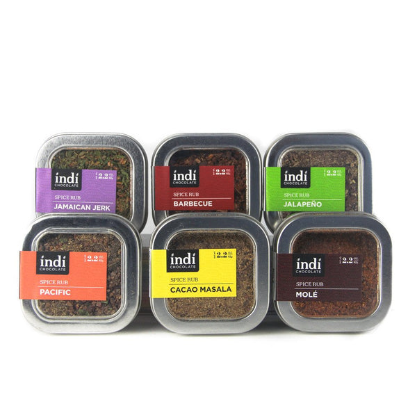 Cacao Spice Rub Set- Indi Chocolate