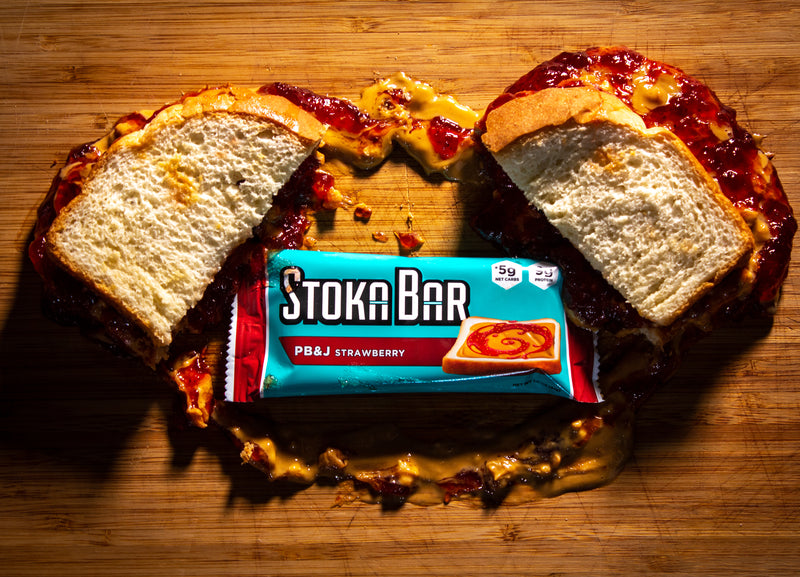 PB&J Strawberry Stoka Bar