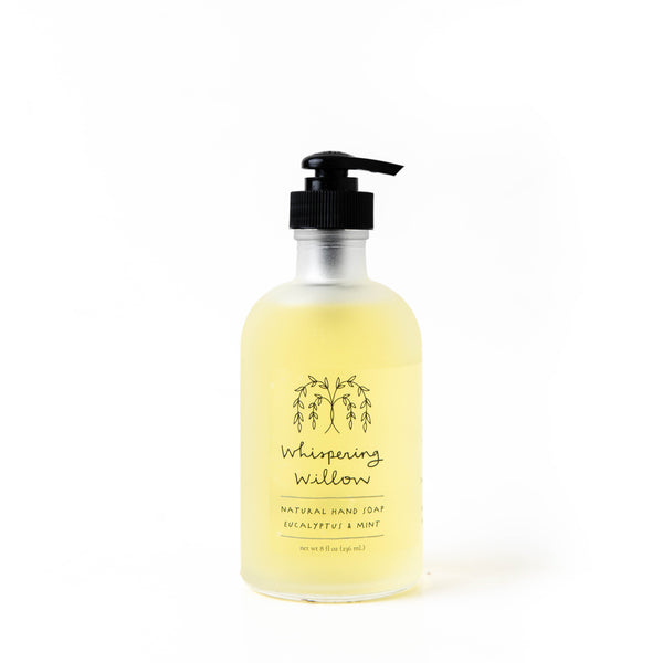 Natural Hand Soap Pump 8oz
