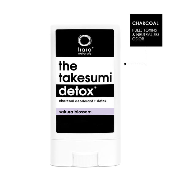 takesumi detox: charcoal deodorant travel size (12g)