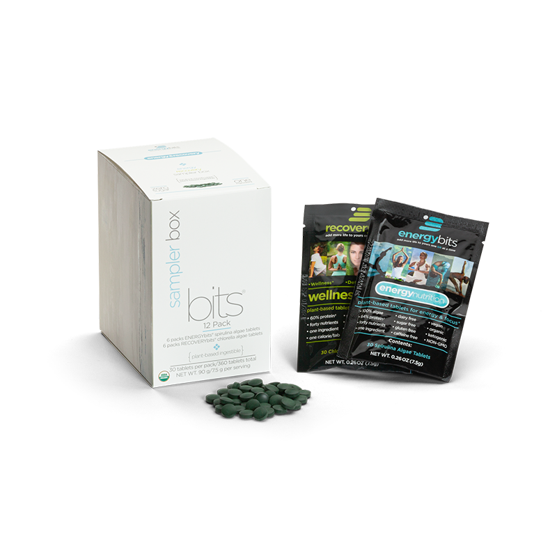 ENERGYBITS® + RECOVERYBITS® 12-PACK BOX