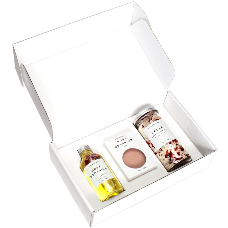 Relax Rose Geranium Essential Kit