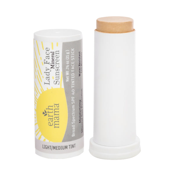 Lady Face Mineral Sunscreen Face Stick SPF 40