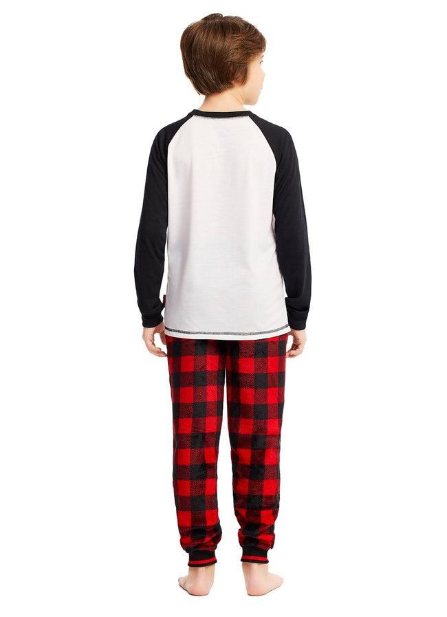 Boys 2-Piece Pajama Set (Santa Claus)
