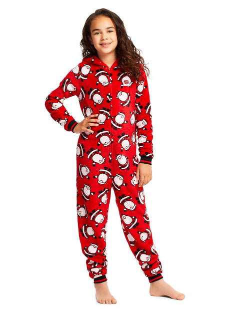Family Holiday Oh Deer Matching Pajama Sets | Girls 2-Piece Pajama