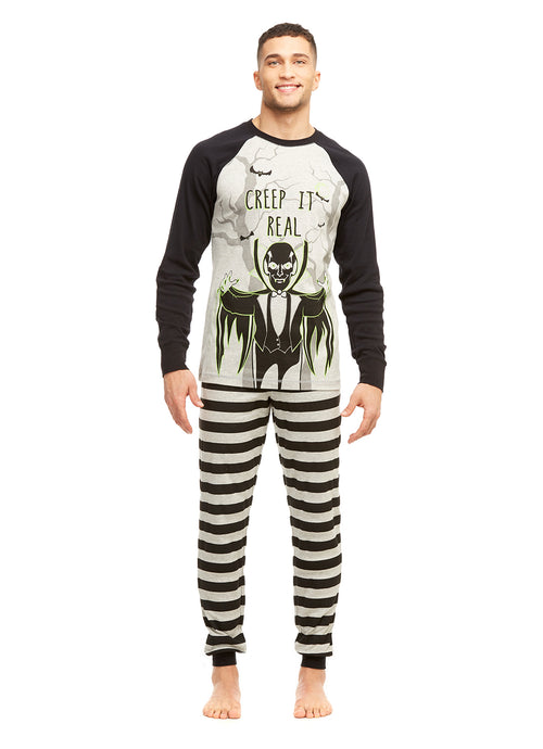 Mens 2-Piece PJ Set (Halloween)