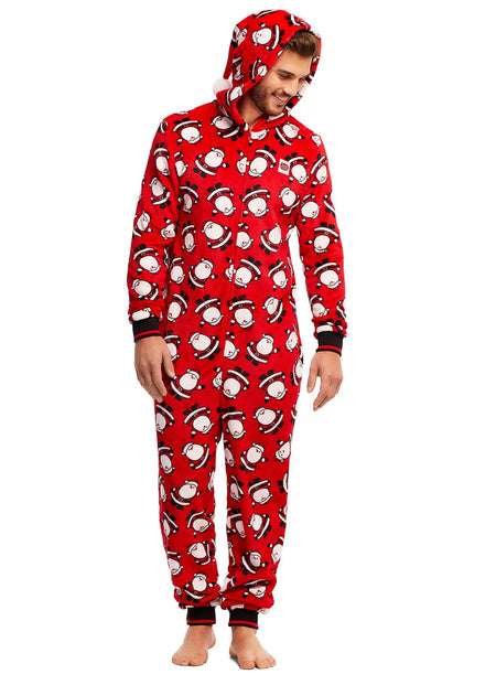 Christmas Matching Family Pajamas - Make it Rein - Onesie - Mens