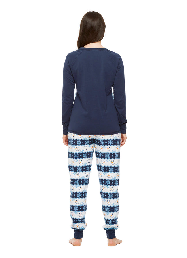 Family Holiday Pajamas, Womens 2-Piece Pajama Set, Winter Wonderland