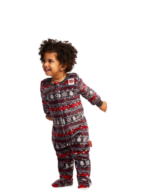 Christmas Matching Family Pajamas - Cabin Cozy - Onesie - Infants