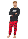 Christmas Matching Family Pajamas - Beary Merry - Boys 2-Piece PJ Set