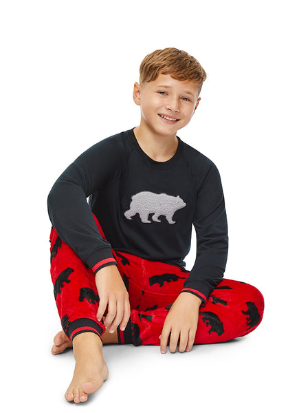 Boys 2-Piece PJ Set (Bear)
