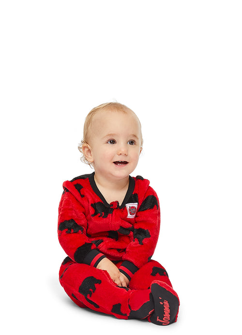 Christmas Matching Family Pajamas - Beary Merry - Infant Onesie