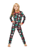 Christmas Matching Family Pajamas - Ugly Sweater Party - Kids 2-Piece PJ Set