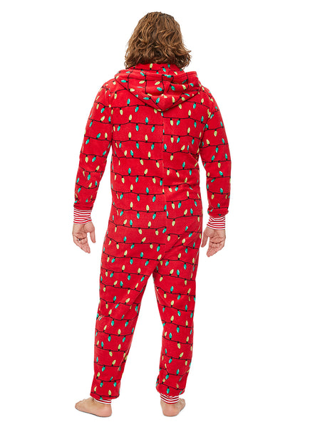 Family Merry Litmas Matching Pajama - Men's Onesie