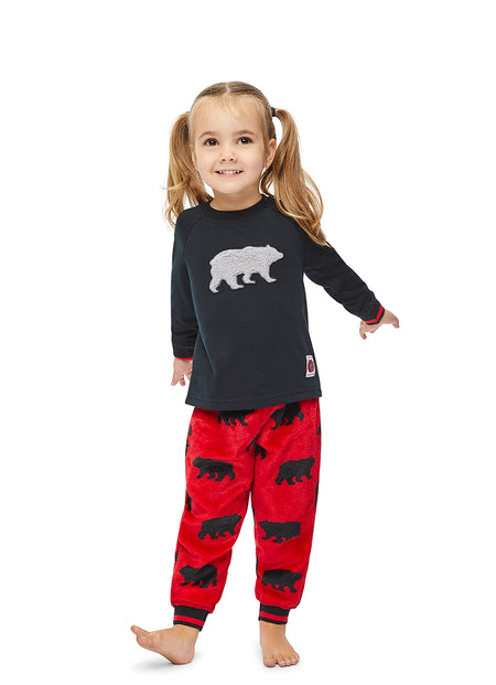 Christmas Matching Family Pajamas - Beary Merry - Pet Shirt