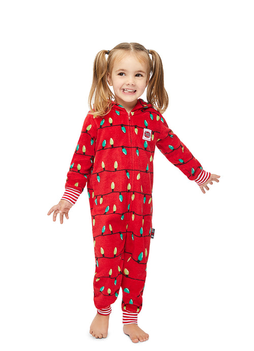 Family Merry Litmas Matching Pajama - Toddler Onesie
