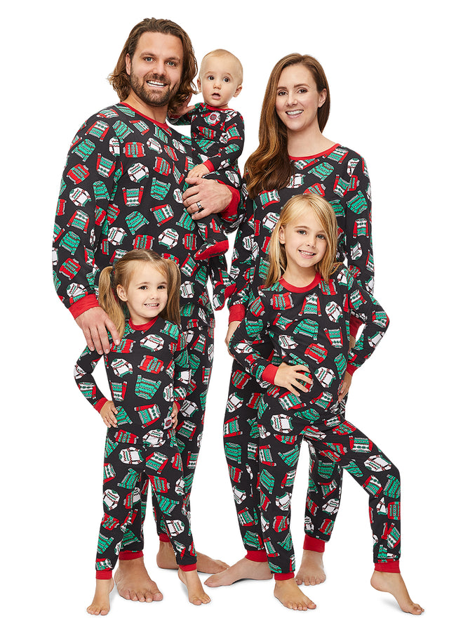 Christmas Matching Family Pajamas - Ugly Sweater Party - Infant Onesie