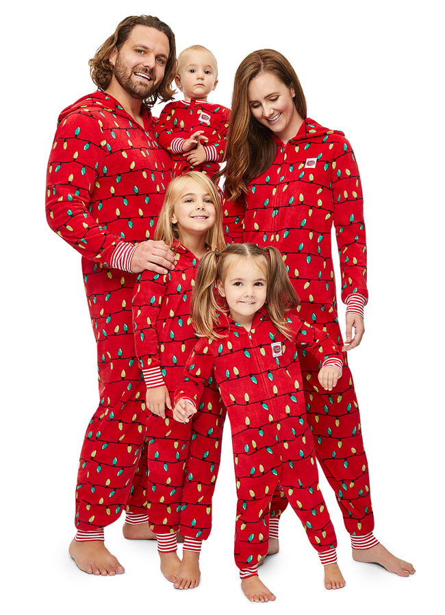 Family Merry Litmas Matching Pajama - Women's Onesie