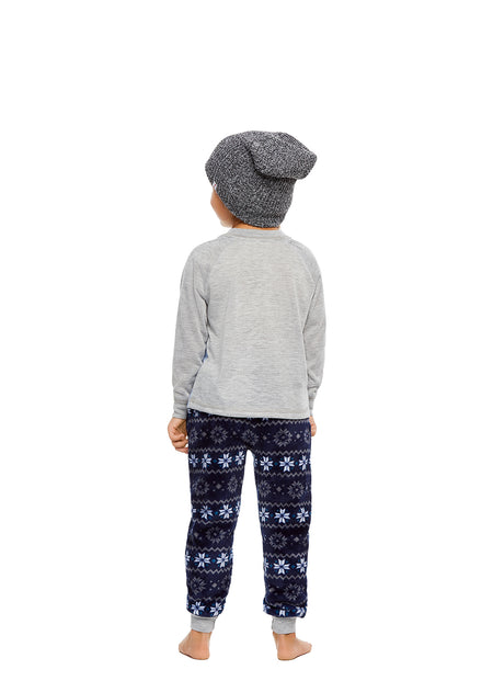Family Let's Hibernate Matching Pajama Sets | Mens 2-Piece Pajama