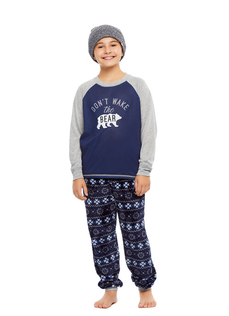 Family Holiday Oh Deer Matching Pajama Sets | Boys 2-Piece Pajama