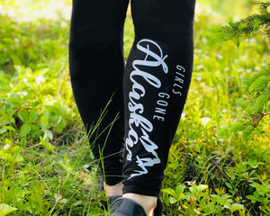 GSF- Girls Gone Alaska Leggings- SOFTEST Around