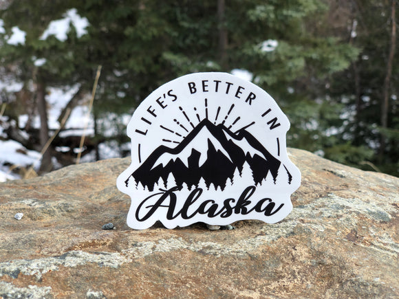 GSF- Life's Better in Alaska Sticker