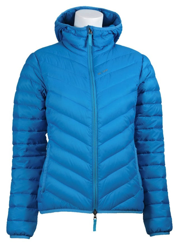 Skhoop Down Hooded Jacket- Aqua