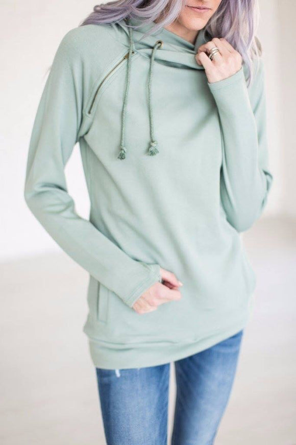 DoubleHood™ Sweatshirt - Seascape