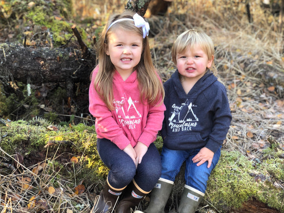 GSF- Kids Hoodie- Loved to the MTNS and Back