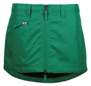 Skhoop Mini Skirt- Emerald Green