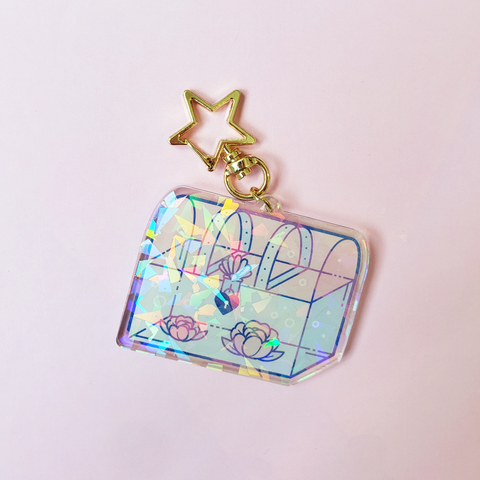 KEYCHAIN | TREASURE CHEST