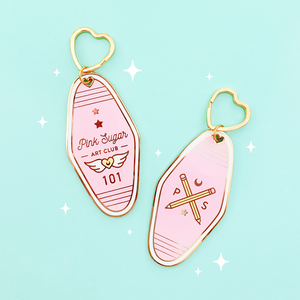 KEYCHAIN | PINK SUGAR ART CLUB
