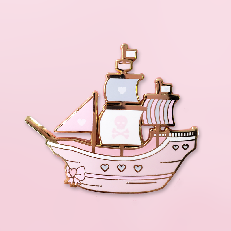 PASTEL PIRATE | SHIP