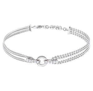 Platinum Evara Indo-Western Diamond Bracelet for Women JL PTB 638