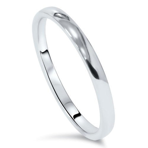 Classic 2mm Platinum Wedding Band SJ PTO 222 in India
