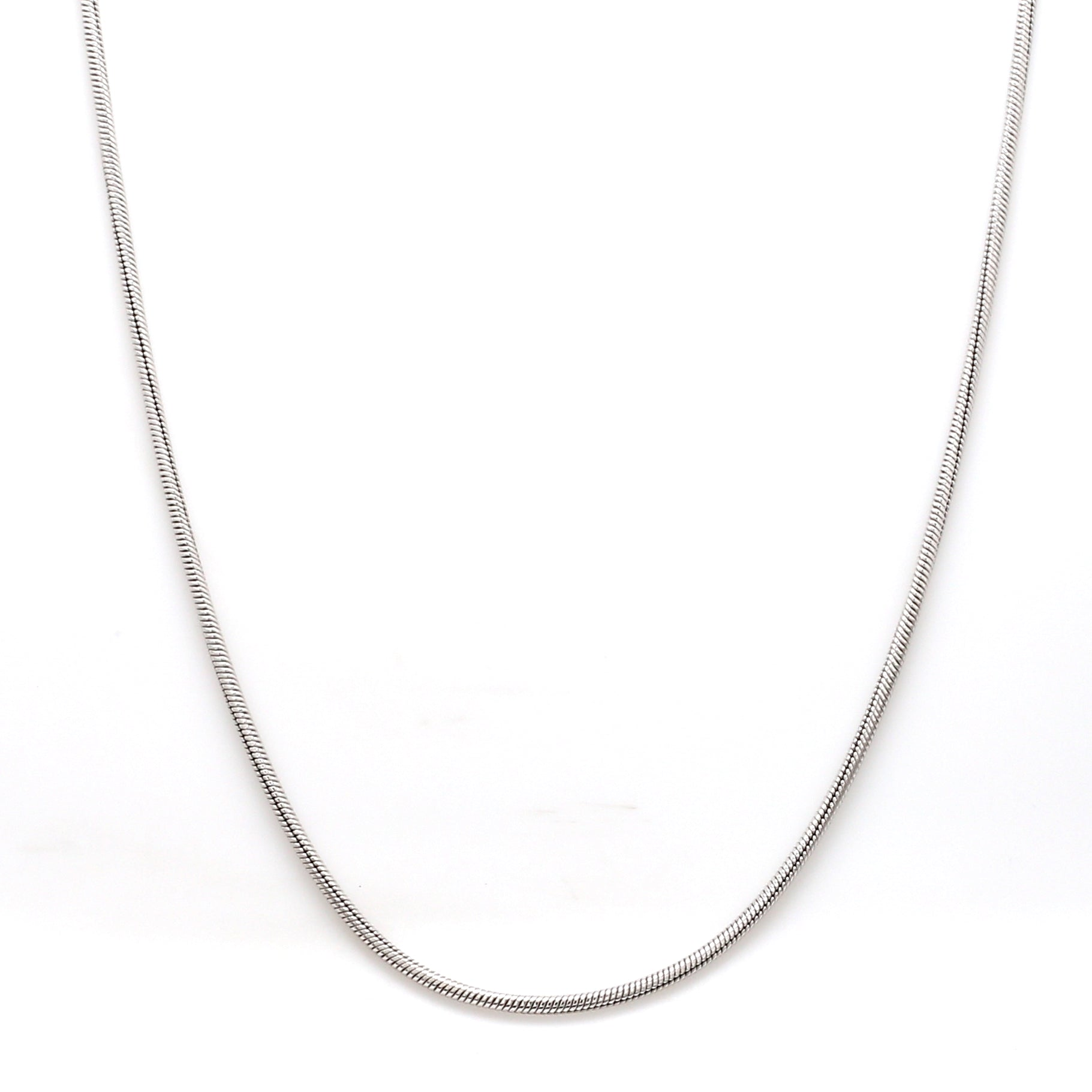 Thicker Plain Platinum Snake Chain for Men SJ PTO 712-A