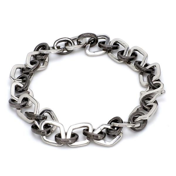 Unique Japanese Platinum Bracelet-Black JL PTB 637